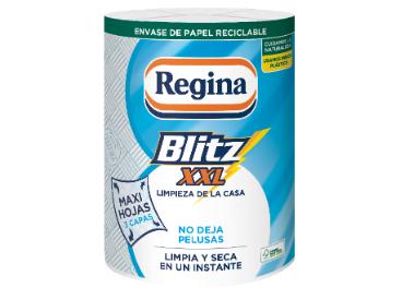 Regina Blitz XXL en envase de papel reciclable