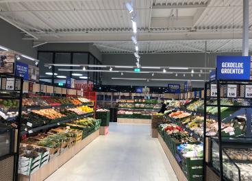 Nueva tienda de Lidl en Bélgica