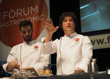 Jordi Cruz Fórum Gastronómico Barcelona