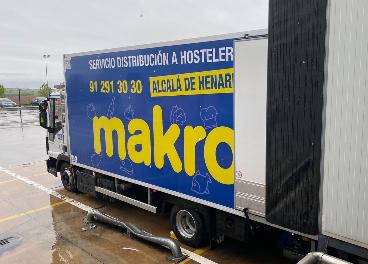 Vehículo de Makro en Ifema