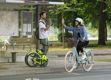 Movilidad sostenible de Decathlon