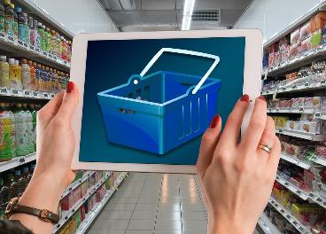 Compra online en un supermercado