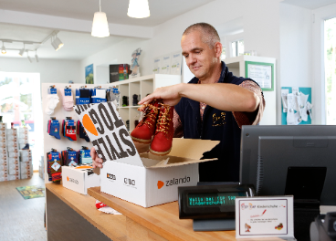 Connected Retail de Zalando