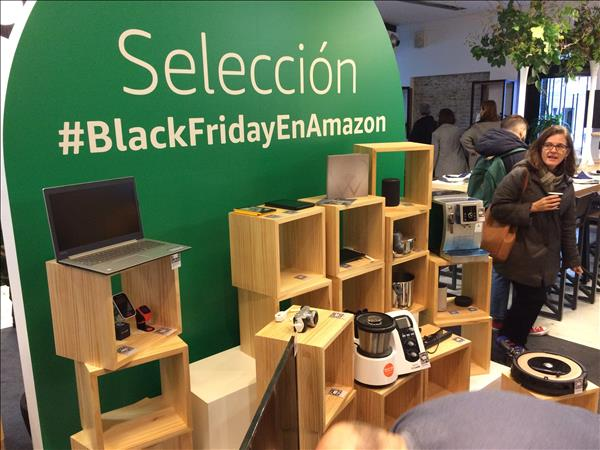 Incluye ofertas dirigidas al Black Friday