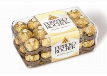 Ferrero Rocher cumple años en Febrero